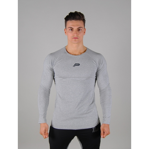 Icon Long-Sleeved Fit - Grey